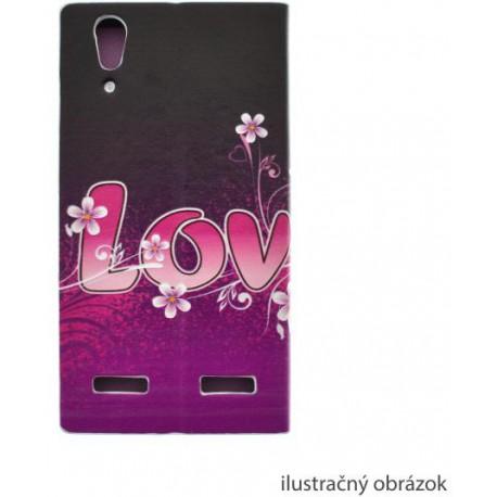 Vzorované knižkové puzdro Samsung Galaxy A5, Love a kamienky