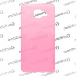 Gumené puzdro Samsung Galaxy A3 2016, ružové, anti-moisture
