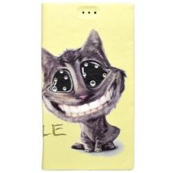 Vzorované knižkové puzdro Samsung Galaxy A5, vzor mačka