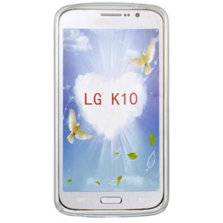 Vzorované gumené puzdro LG K10, vzor Never stop dreaming