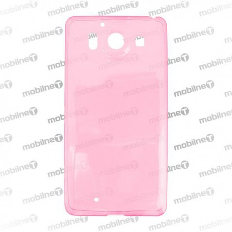 Gumené puzdro Microsoft Lumia 950, ružové, anti-moisture