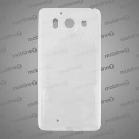 Gumené puzdro Microsoft Lumia 950, priehľadné, anti-moisture
