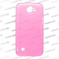 Gumené puzdro LG K4, ružové, anti-moisture