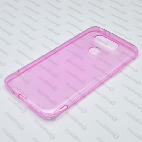 Gumené puzdro LG G5, ružové, anti-moisture