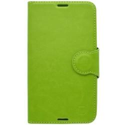 Bočné knižkové puzdro Samsung Galaxy A3 2016, zelené