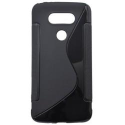 Gumené puzdro S-Line LG G5, čierne