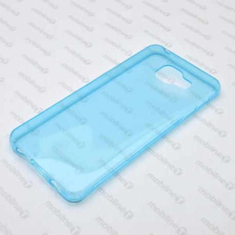 Gumené puzdro Samsung Galaxy A3 2016, modré, anti-moisture