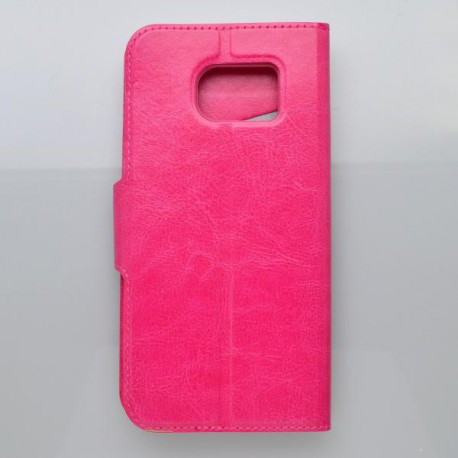 Bočné knižkové puzdro Samsung Galaxy S7 Edge , ružové