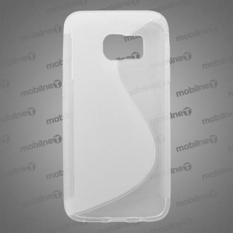 Gumené puzdro S-line Samsung Galaxy S7, transparentné