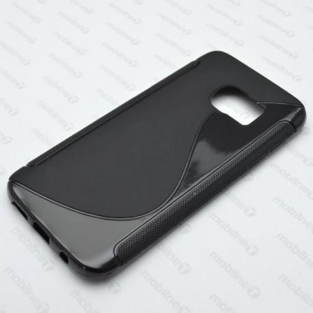 Gumené puzdro S-line Samsung Galaxy S7, čierne