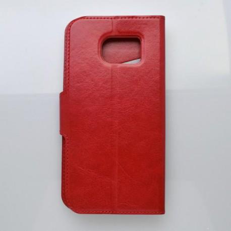 Bočné knižkové puzdro Samsung Galaxy S7 Edge, červené