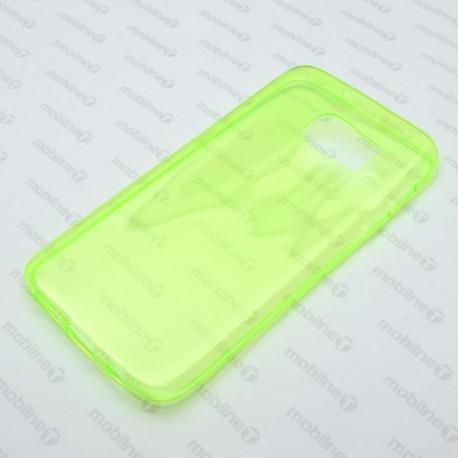Gumené puzdro Samsung Galaxy S7, zelené, anti-moisture