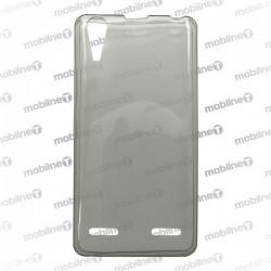 Gumené puzdro Lenovo A6010, sivé, anti-moisture