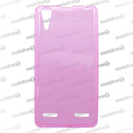 Gumené puzdro Lenovo A6010, ružové, anti-moisture