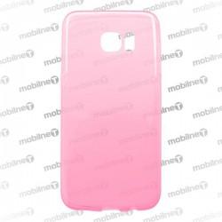 Gumené puzdro Samsung Galaxy S7 Edge ružové, anti-moisture