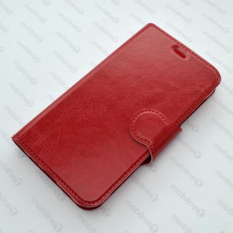 Bočné knižkové puzdro Lenovo A6010, červené