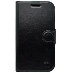 Bočné otváracie puzdro Lenovo Vibe X3, čierne