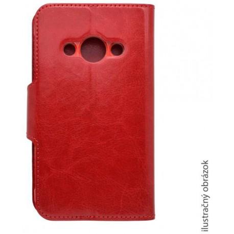 Bočné knižkové puzdro Samsung Galaxy S7, červené