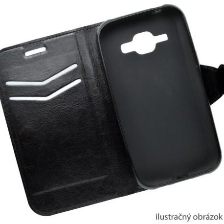 Bočné knižkové puzdro Lenovo A7010, čierne
