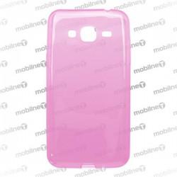 Gumené puzdro Samsung Galaxy J3 2016 ružové, anti-moisture