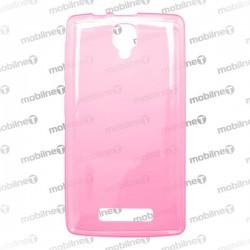 Gumené puzdro Lenovo A1000, ružové, anti-moisture