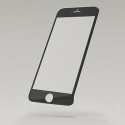 Tvrdené sklo - sklenená fólia 3D Fiber Sturdo iPhone 6S, čierna