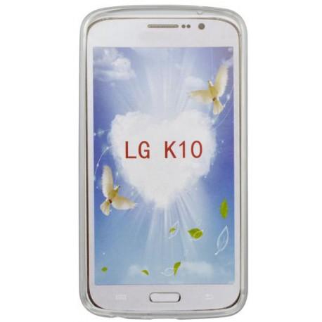 Vzorované gumené puzdro LG K10, vzor Smile