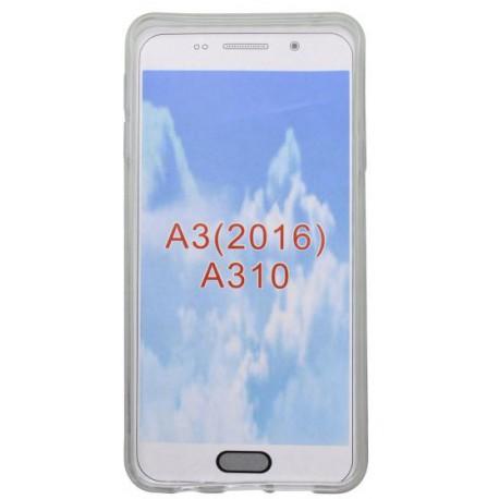 Vzorované gumené puzdro Samsung Galaxy A3 2016, vzor Smile