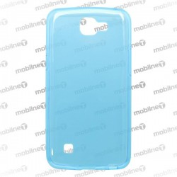Gumené puzdro LG K4, modré, anti-moisture
