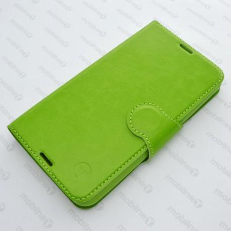 Zelené knižkové puzdro LG K4, bočné otváranie