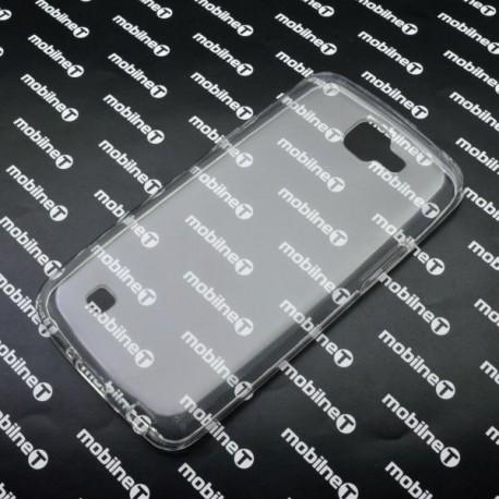 Gumené puzdro LG K4, priehľadné, anti-moisture