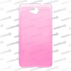 Gumené puzdro Microsoft Lumia 650, ružové, anti-moisture