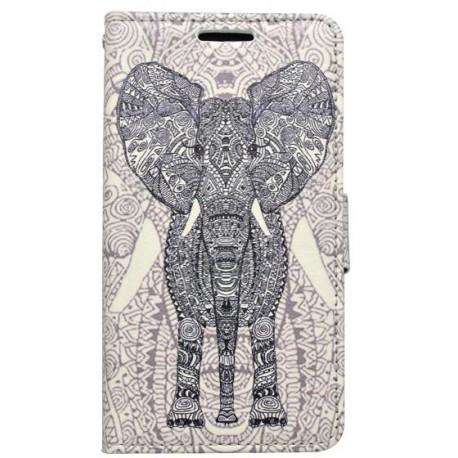 SAM Galaxy J5 vzor slon bočná knižka