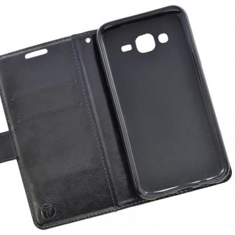 Vzorované knižkové puzdro / obal na Samsung Galaxy J5, vzor slon