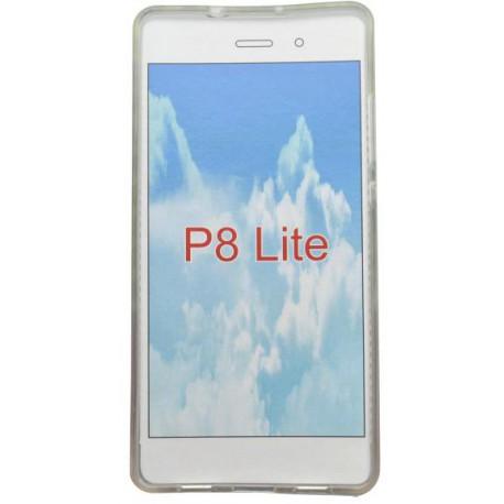 Vzorované gumené puzdro Huawei P8 Lite, vzor smile