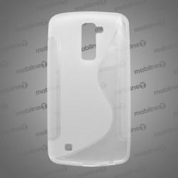 Gumené puzdro S-Line LG K10, transparentné