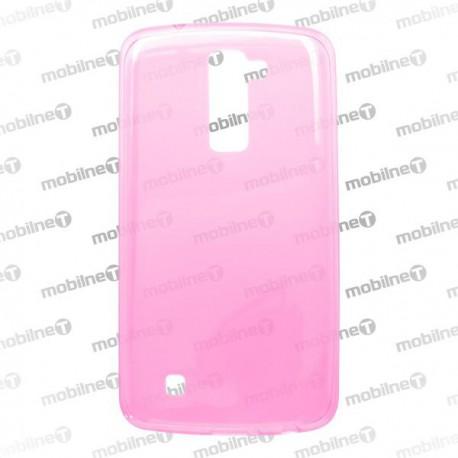 Gumené puzdro LG K10, ružové, anti-moisture