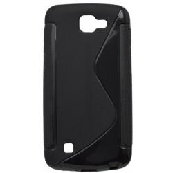 Gumené puzdro S-Line LG K4, čierne