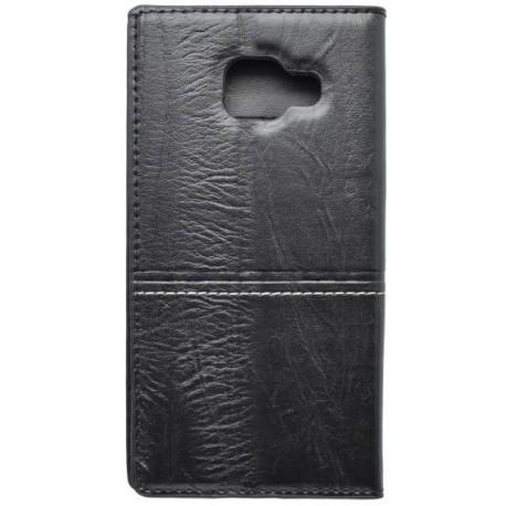 Otváracie puzdro Luxury Samsung Galaxy A3 2016, čierne