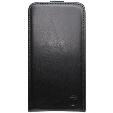 Sklopné knižkové puzdro Samsung Galaxy J1 Ace, čierne