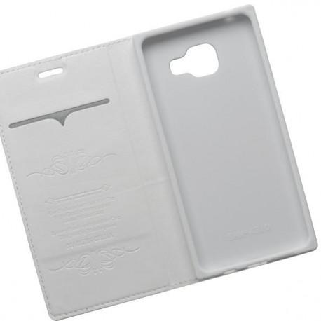 Otváracie puzdro Luxury Samsung Galaxy A3 2016, biele