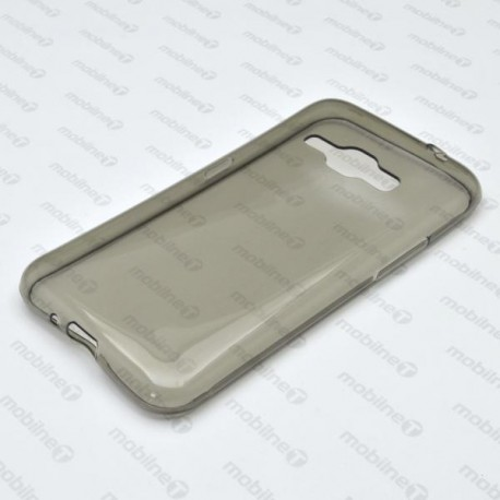 Gumené puzdro Samsung Galaxy J1 2016, sivé, anti-moisture