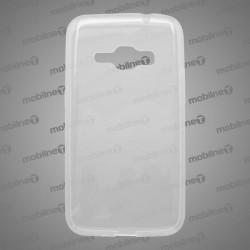 Gumené puzdro Samsung Galaxy J1 2016, priehľadné, anti-moisture