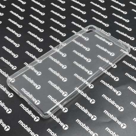 Gumené puzdro Sony Xperia XA, priehľadné, anti-moisture