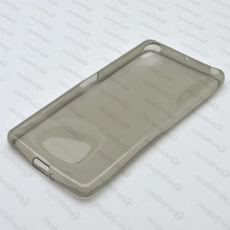 Gumené puzdro Sony Xperia X, sivé, anti-moisture
