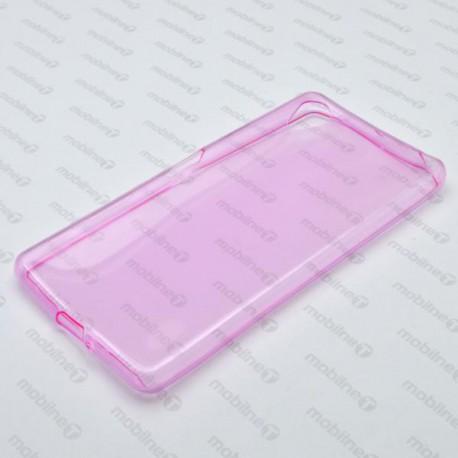 Gumené puzdro Sony Xperia X, ružové, anti-moisture