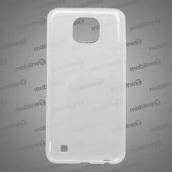 Gumené puzdro LG X Cam, priehľadné, anti-moisture