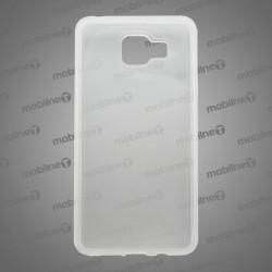 Gumené puzdro (obal) s matným okrajom Samsung Galaxy A5 2016, transparentné