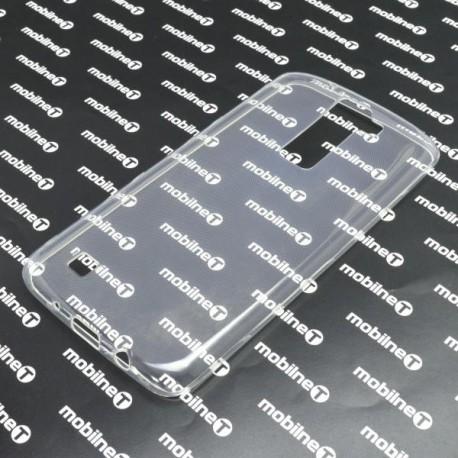 Gumené puzdro LG K8, priehľadné, anti-moisture