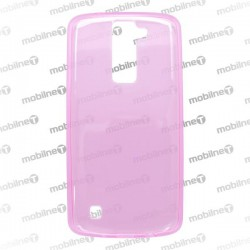 Gumené puzdro LG K8, ružové, anti-moisture